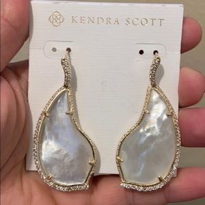 Authentic KS MOP Tinley earrings